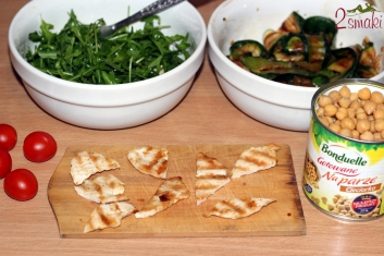 Salatka z ciecierzycy 5