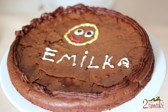Torcik imieninowy Emilki