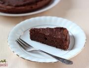 Tort brownie z kremem czekoladowym
