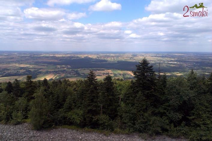 Góry Świętokrzyskie - panorama z Łysej Góry