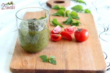Pesto z pokrzywy 5
