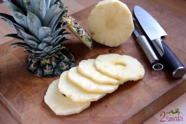 Jak obrać i pokroić ananasa