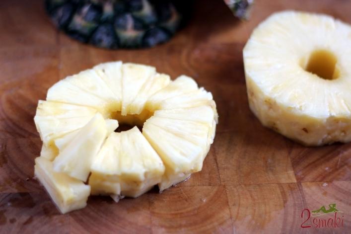 Ananas jak obrać i pokroić
