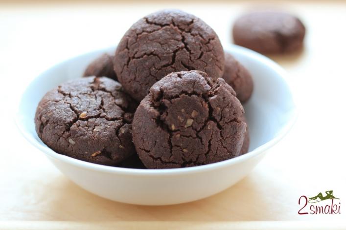 Ciastka czekoladowe z otrębami 0