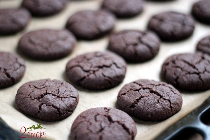 Ciastka czekoladowe z otrębami 4