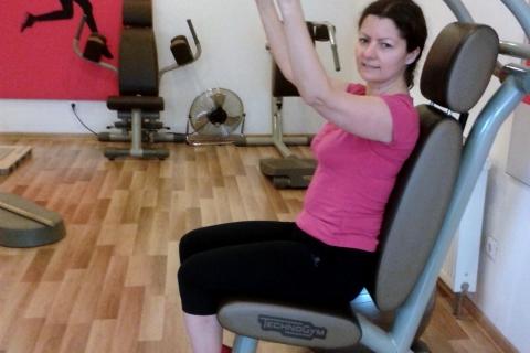 Ola i ćwiczenia w Mrs.Sporty
