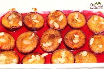 Śliwki pieczone 2