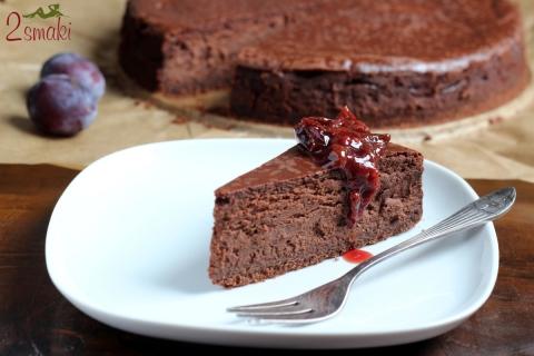 Sernik intensywnie czekoladowy