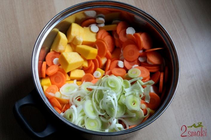 Zupa z dyni i warzyw 1
