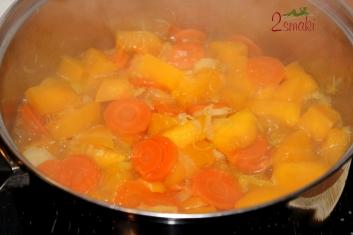 Zupa z dyni i warzyw 2