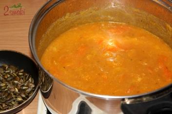Zupa z dyni i warzyw 3