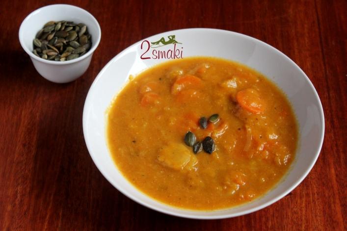 Zupa z dyni i warzyw