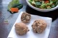Bułeczki żytnio-owsiane z ziarnami