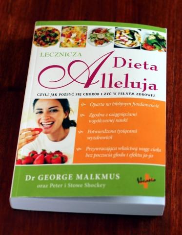 Dieta Alleluja książka