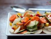 Surowe warzywa na obiad