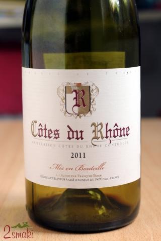 Wino Cotes du Rhone