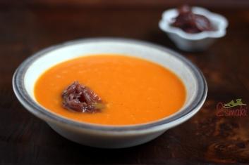 Zupa dyniowo-pomarańczowa