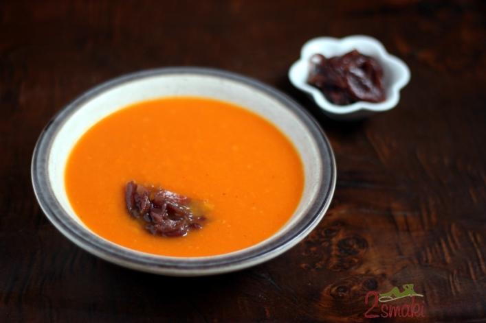 Zupa dyniowo-pomarańczowa a 4