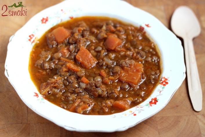 Zupa z dyni i zielonej soczewicy 0