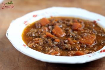 Zupa z dyni i zielonej soczewicy 4