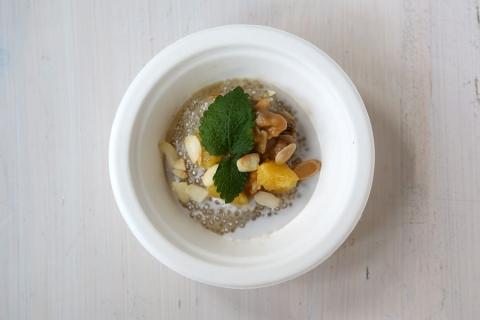 Warsztaty orzechowe Kikkoman i Tabasco - kokosowy pudding z imbirem i karmelizowanymi orzechami