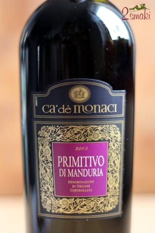Wino Primitivo di Manduria