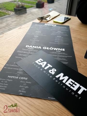 Eat and Meet 2 menu