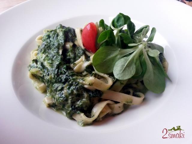 Eat and Meet 7 Tagliatelle ze szpinakiem