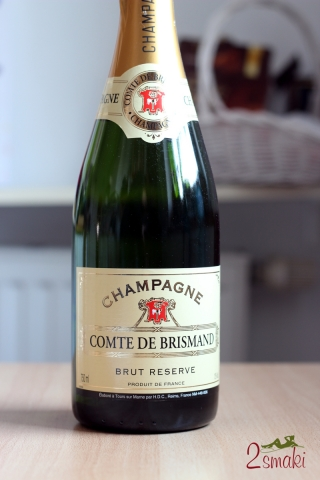 Wino Champagne Comte de Brismand 2