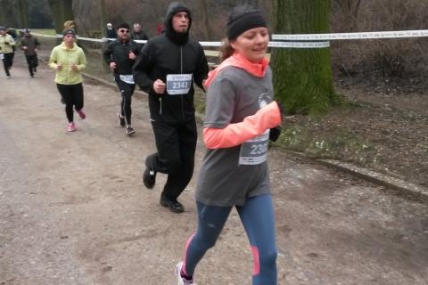 Tropem Wilczym 2016 Ola biegnie