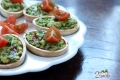 Waflowe jajka faszerowane awokado ze szczypiorkiem