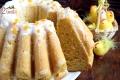 Wegańska cytrynowa babka drożdżowa