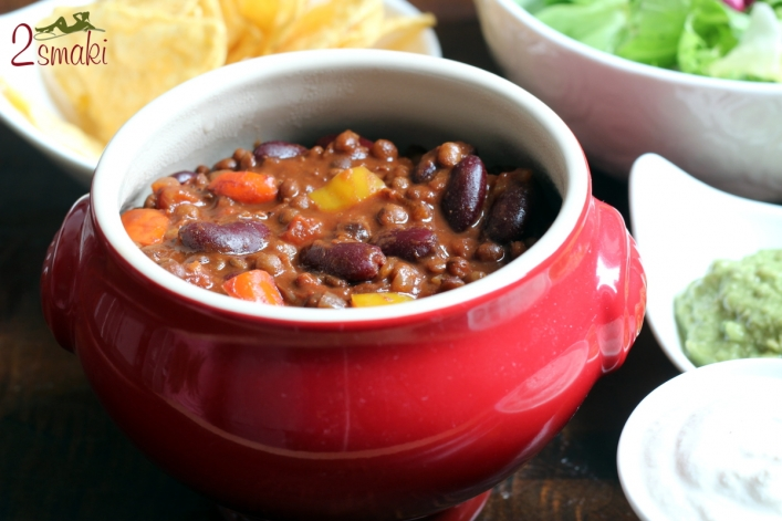 Wegańskie chili con carne