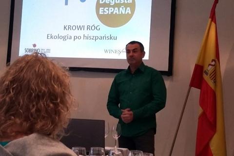 Wina hiszpańskie organiczne - Julio Cesar Sobrino
