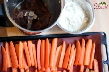 Brownie marchewkowe 2
