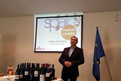 Degustacja win hiszpanskich - Julio Sobrino