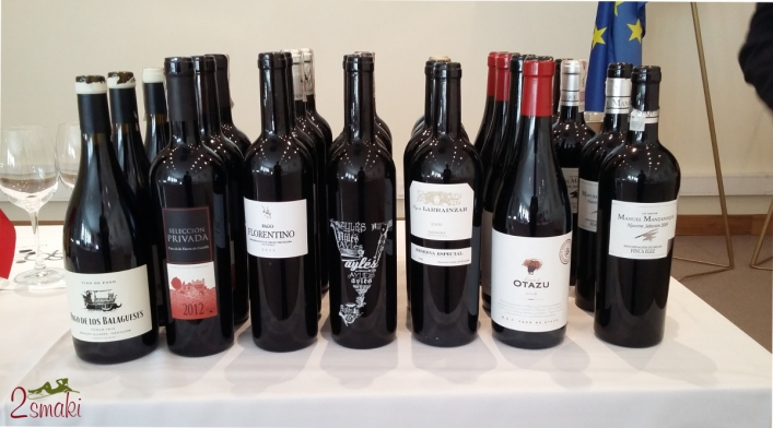Degustacja win hiszpanskich - Vino de Pago