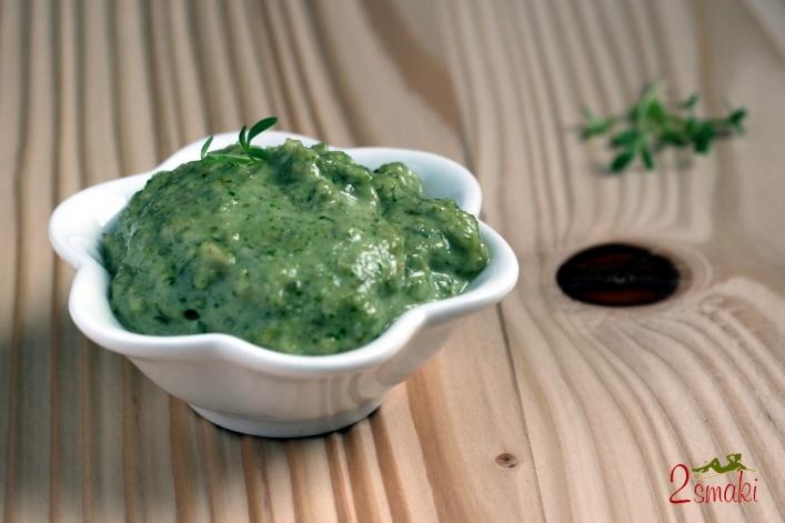 Pesto z rzeżuchy