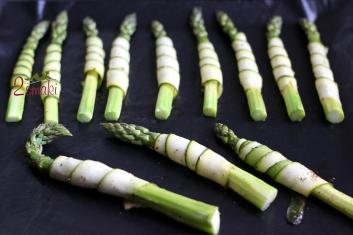 Szparagi w cytrynowej cukinii 2