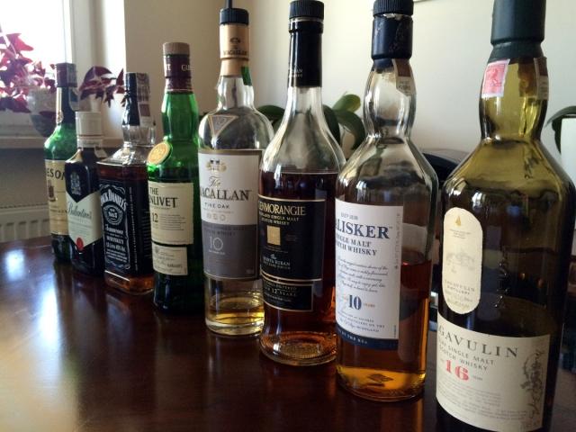 Whisky butelki 1