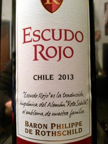 Wino Escudo Rojo