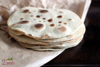 Chlebki naan 3