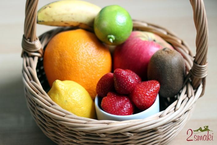 Wyciskarka i sokowirówka - owoce