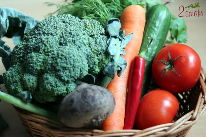 Wyciskarka i sokowirówka - warzywa