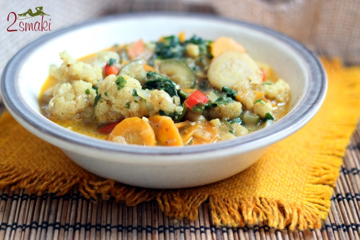 Curry warzywne