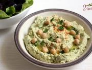 Hummus z natką pietruszki