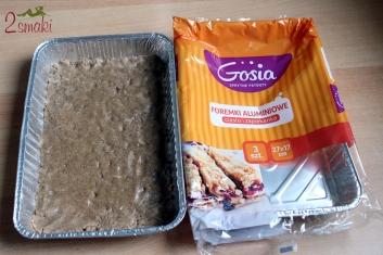 Kruche ciasto z pianką i malinami - wegańskie i bezglutenowe 1