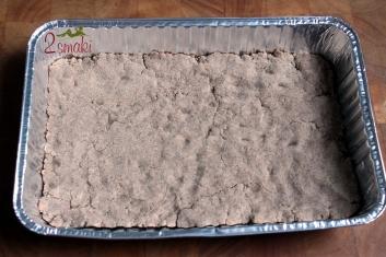 Kruche ciasto z pianką i malinami - wegańskie i bezglutenowe 2