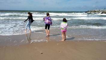 Plaża zachodnia w Ustce 1