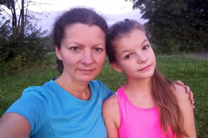 Bieganie w Beskidzie - 2 dzień